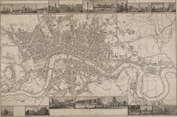 LANGLEY & BELCHE'S NEW MAP OF LONDON